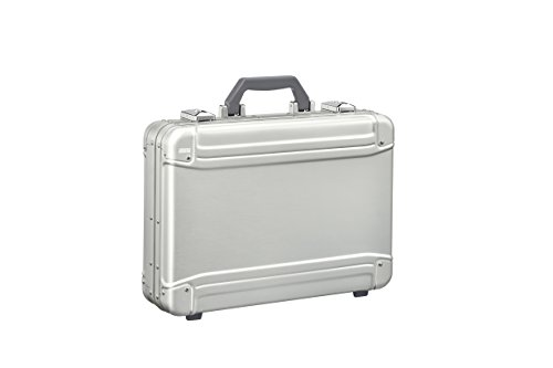 Zero Halliburton Geo Aluminum 3.0 Large Attaché Briefcase, Silver, One Size ()