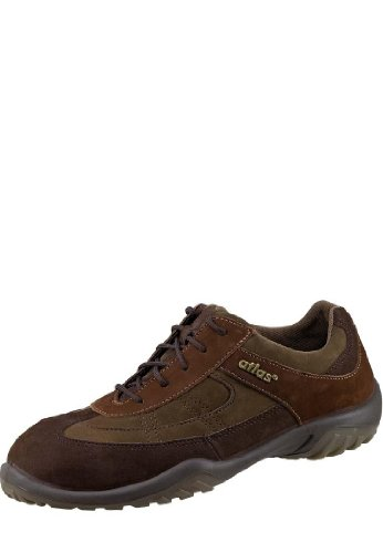 Atlas Sneaker Sn 10 Bruin Eniso 20345 S2 Schwarz