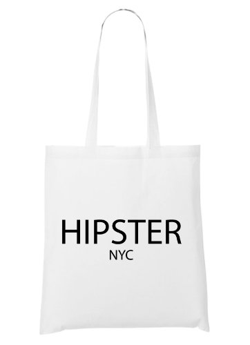 Hipster NYC Bag White