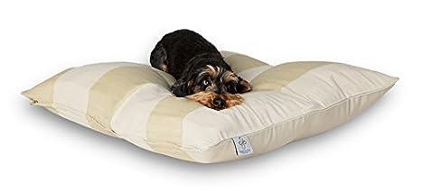 Darling Little Place cama para perros, 80 x 80 cm, arena Stripes: Amazon.es: Productos para mascotas
