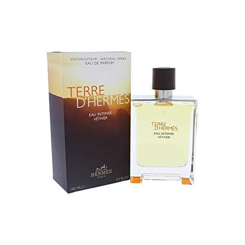 Terre D'Herm Eau Intense Vetiver Eau De Parfum 3.4 Ounce