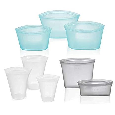 Bolsas de almacenamiento reutilizables de silicona para ...