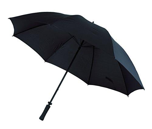 Regenschirm Sturmfest Fiberglasstock Doppelmetallspeichen und Rückholautomatik-Feder