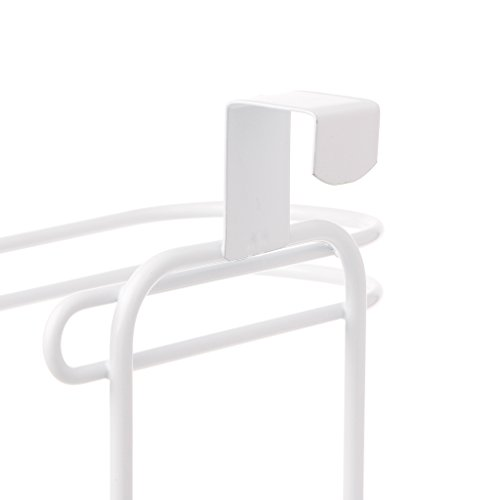 Techinal Bathroom Over Tank Toilet Paper Roll Holder - Double Roll Tissue Paper Storage by Techinal (Image #6)