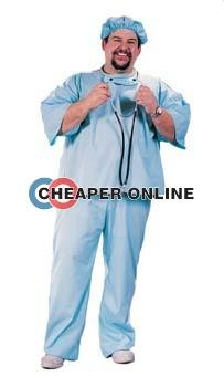 Doctor! Doctor! Costume - Plus Size - Chest Size (Tall Size Costumes)