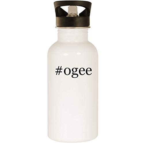 - #ogee - Stainless Steel Hashtag 20oz Road Ready Water Bottle, White