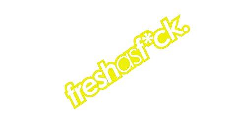 Decal Fresh (Fresh as Fck Tuner Stance Vinyl Decal - size: 7
