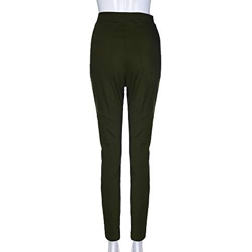 meibax Ricamati Jeans Skinny skinny Pantaloni Casuali Donna Con Applicazioni E pantaloni Pantalone matita estate A Pants Farfalla Floreali Autunno 5x4OqnAOEw