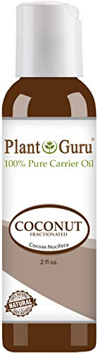 Fractionated Coconut Oil 2 oz. 100% Pure MCT Natural Carrier