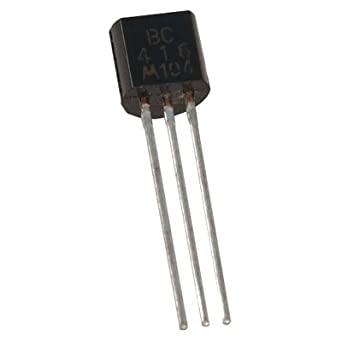 TRANSISTOR, LOW NOISE, PNP, TO92 Vceo 45, hFe 350, MOTOROLA(10 ...