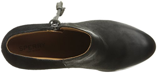 Sperry Dasher Women's Black Bootie Lille Sider Top Ankle rpq1tr