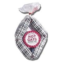 "Deluxe Hot Cats Four Link Catnip Salchicha Diseño de variedad 17 ""- Relleno con Catnip orgánico"