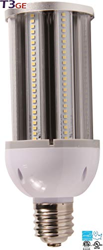 T3 Green Energy LED Corn Light 36W 4200 Lumens Backyard Lighting UL Listed (5000K Daylight White) (36W - E26 Base) ()