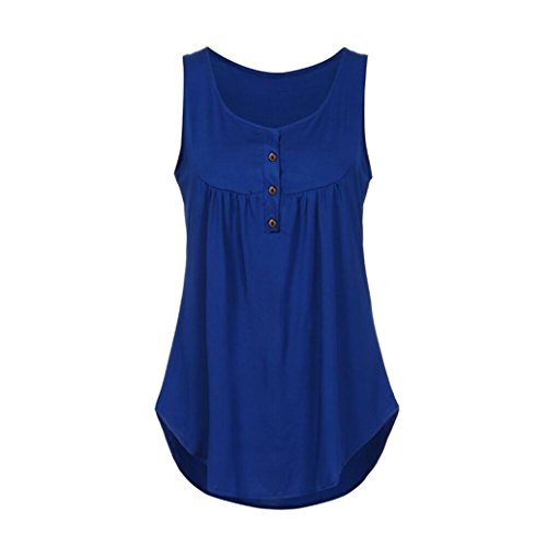 Mode Casual Tops bleu V Cou sans Femmes Zipper T Manches Y Tefamore Lache Shirt Tops Blouse xaSxfrn