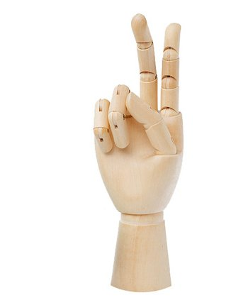 """8"""" Wooden Hand Manikin Child Hand, 8 Inches Tall Child Right Hand"""