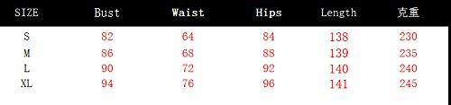 JOTHIN Damen Einfarbige Rundausschnitt Bodycon Jumpsuit Turtleneck Clubwear Bandage Jumpsuit Overall Weiß Ll05bojL3