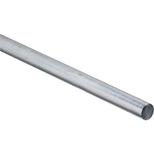 National Hardware N179-812 4005BC Smooth Rod Zinc plated, 5/8