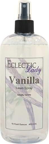 Vanilla Linen Spray, 16 ounces
