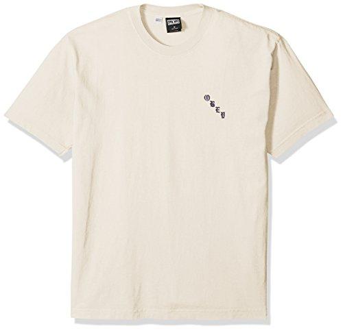 Obey Men's Airbrushed Rose Dyed Heavyweight Tshirt, Aqua Marine, M ()