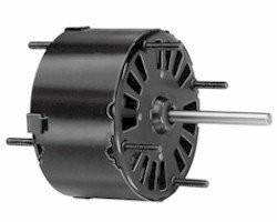 Fasco D132 3.3'' Frame Open Ventilated Shaded Pole General Purpose Motor withSleeve Bearing, 1/20HP, 1500rpm, 115V, 60Hz, 1.8 amps, CW Rotation