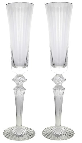 Barware Mille (Baccarat Mille Nuits Champagne Flutes Set of 2 2810597)