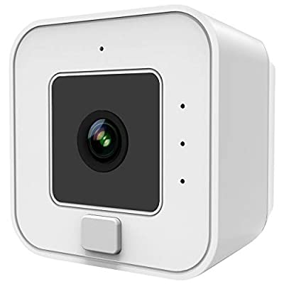 Simply Smart Home The Cube Wireless Security Camera, Indoor, Outdoor, DIY, HD, Night Vision, Motion Sensor, No Tools/Wires, 1 Min Install, Alerts, iOS Android, Home Safety