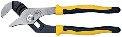 Klein Tools J502-10 Journeyman Pump Pliers, Yellow and Black,Yellow/Black,Small