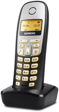 Siemens Gigaset A26 - Teléfono inalámbrico con base de carga: Amazon.es: Electrónica