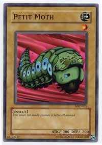 Yu-Gi-Oh! - Petit Moth (MRD-023) - Metal Raiders - Unlimited Edition - Common - Moth Common Card