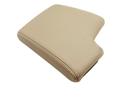BMW E90 CENTER CONSOLE ARMREST SYNTHETIC LEATHER COVER BEIGE For - Armrest Bmw