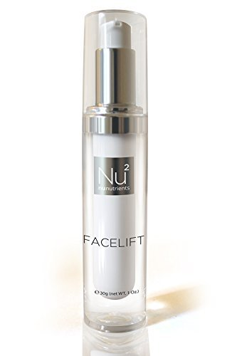 Nunutrients Facelift Anti Aging Serum, Can be Mixed with Make Up – Reduces Common Signs of Skin & Eye Aging, Appearance of Fine Lines, Wrinkles + Fights Sagging & Crows Feet! Provided in Pump Dispenser – Get the Skin-tone You want