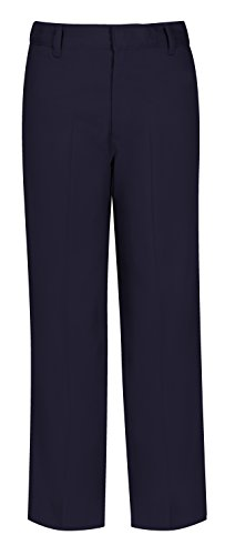 Classroom Uniforms CLASSROOM Big Boys' Husky Flat Front Pant, Dark Navy, 14H by Classroom Uniforms