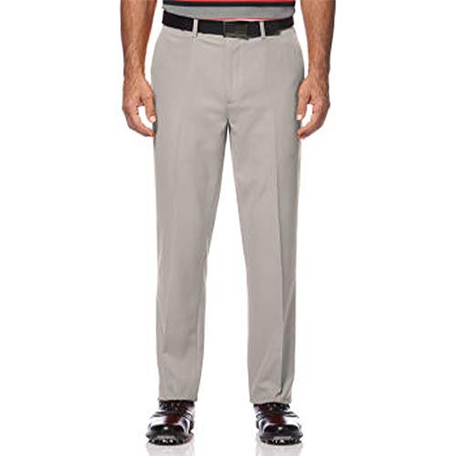 Ben Hogan Performance Flat Front Golf Pant Silver Cloud 36/30