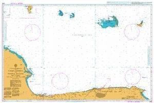 Ba Diagramm 2192  Cabo Codera zu Punta aguide einschließlich der Inseln von UNITED KINGDOM Hydrographic Büro