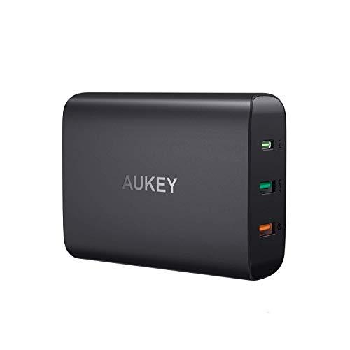 AUKEY USB C Ladegerät mit 45W Power Delivery 3.0, 3-Port USB Netzteil mit...