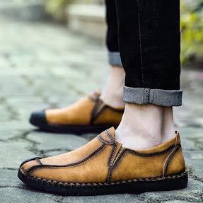 Inghilterra casuale Grande scamosciato scarpe Blu particolarmente Uomo Bebete5858 PU Dimensione Extra Uomini stile 48 Pelle vwAZ1x7qnE