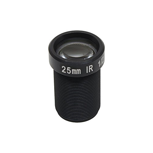5MP Action Camera Lens 25mm FixedM12 1/2 Inch IR Filter For Gopro SJCAM Camera Long Distance View