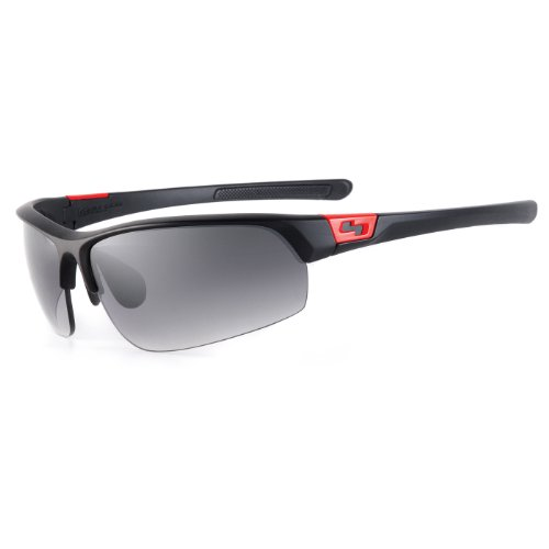 Sundog Eyewear Mach Sunglasses, Black/Red, Gradient - Sundog Sunglasses