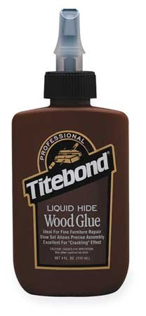 Glue, Liquid Hide, 4 Oz, Amber