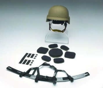 Oregon Aero® BLSS® Kit (Ballistic Helmet Liner & Suspension System) for the PASGT Helmet BLACK STANDARD SIZE by Oregon Aero