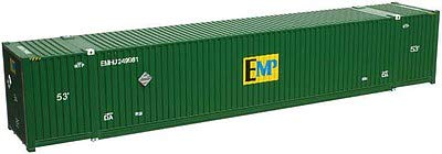 CIMC 53' 110'' IH Container 3-Pack EMP Set #5 HO Scale
