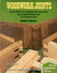 Woodwork Joints: Edge Joints, Mortise & Tenon, Halved & Bridle Joints, Housed & Dowelled, Dovetails, Length Joints, Mechanical Joints, Joints for Manufactured Boards by Charles H. Hayward (Ten Tenon)