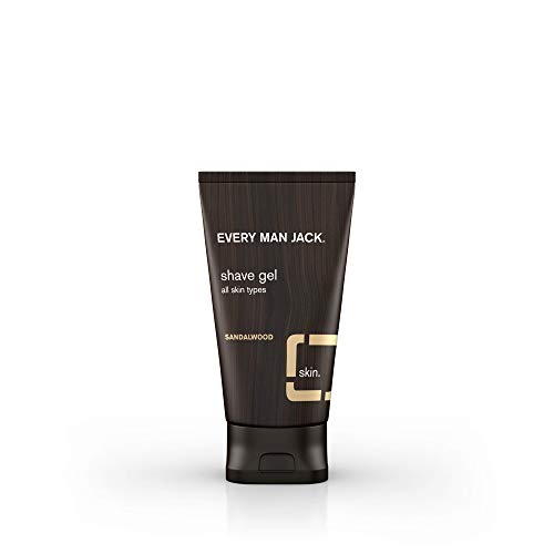 Every Man Jack Shave Gel, Sandalwood, 5.0-ounce ()