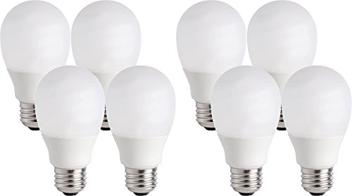 Shatter Resistant Bulb Lamp (Philips 14W (60W Equivalent) CFL Shatter Resistant Light Bulb with 9.1 Year Life (8 Bulbs))