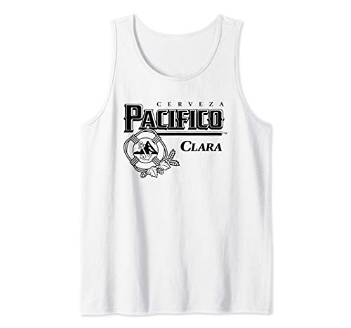 Pacifico Black Logo Tank Top for sale  Delivered anywhere in USA