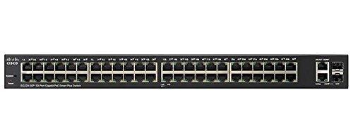 Cisco SG220-50 Gigabit Smart Plus Conmutador de 50 Puertos