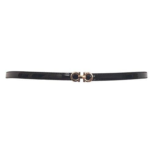 skinny belt leather - 6