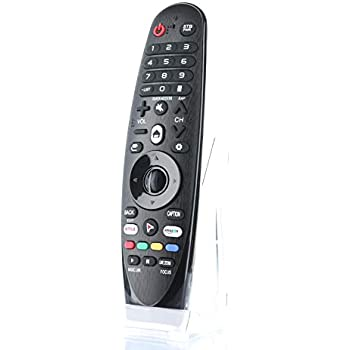 LG Replacement AN-MR600 Magic Remote with Pointer, Netflix, App Keys  Replaces AN-MR600G  AN-MR650, AN-MR650G, ANMR650A, ANMR600, AN-MR650B,  AN-MR19BA,