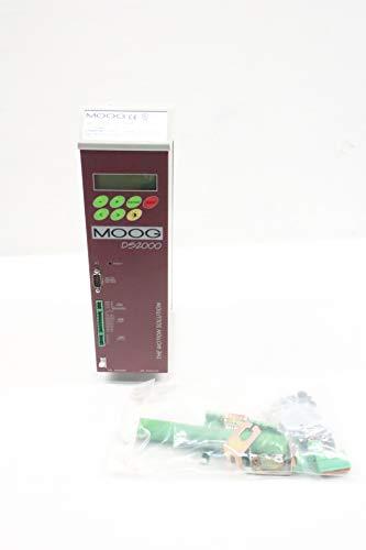 MOOG CZ1001C4 DS2000 4A AMP 50/60HZ 230/460V-AC 3PH SERVO Drive - Amps Moog