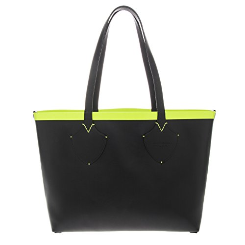 Burberry Women's Medium Giant Reversible Tote in Canvas and Leather